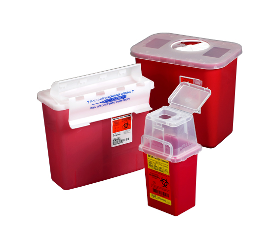 Sharps Needle Collector Boxes