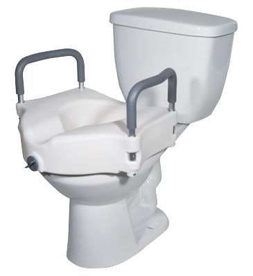 Elevating Commode Seat