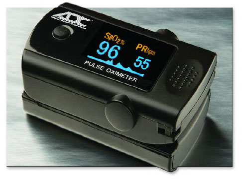 Pulse Oximeter -Digital Fingertip by ADC: ADC 2100 Multiple Display