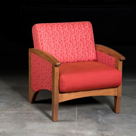 Arcadia Chair red