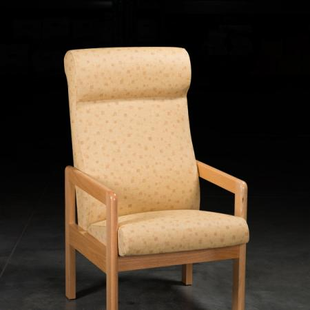 Silhouette Chair yellow